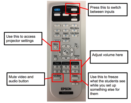 Epson Projector Remote